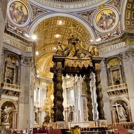 Visite Basilique Saint Pierre