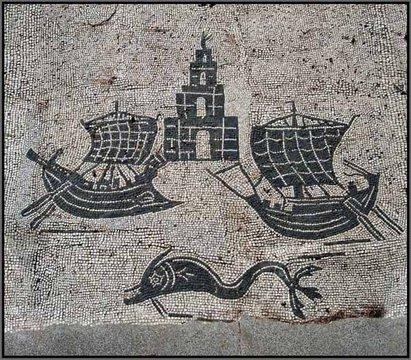 Visite de Ostia Antiga
