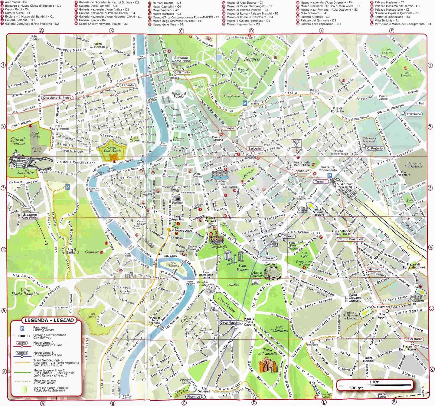 Mappa Roma