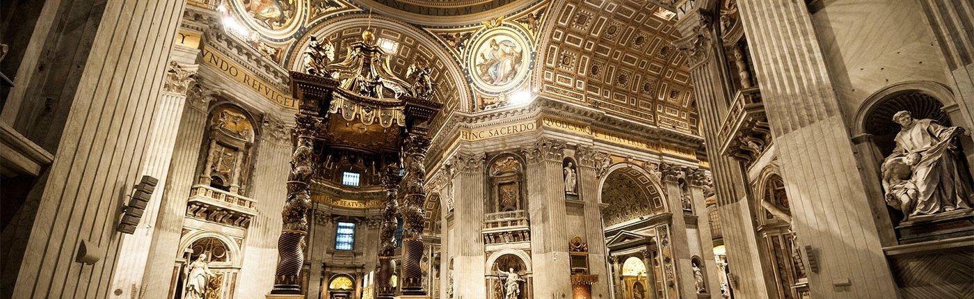 San Pietro Baldacchino