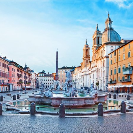 Visita Plazas de Roma