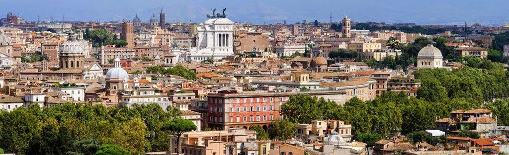 Panoramica Roma dal Gianicolo