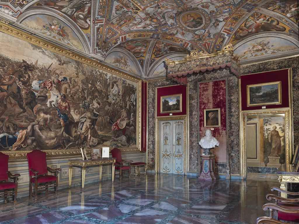 Palazzo Colonna sala del Baldacchino